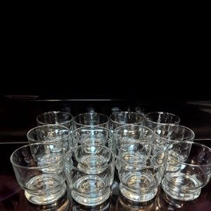 Princess house heritage set of 12 punch glasses
